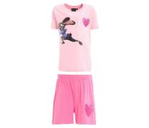 ZOOTOPIA Nachtwäsche Set rosa/pink