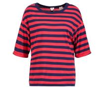SUTRO TShirt print blue/scarlet