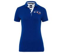 SALLYING Poloshirt royal blau