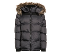 Winterjacke anthracite/black