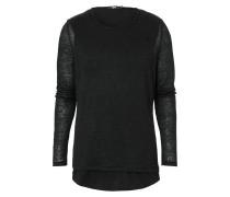 GERRY Langarmshirt black
