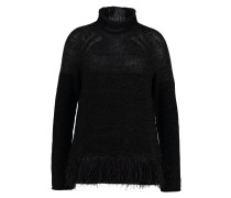 DAY BACKSEAT Strickpullover black