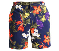 MONACO Badeshorts navy tropical
