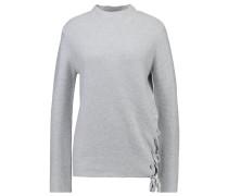 RAYMONDE Strickpullover light grey melange
