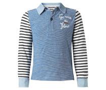 EDINBORO Poloshirt french blue melange
