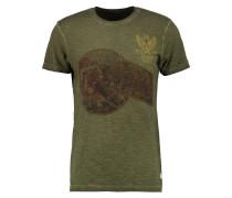 GEORGIES TRENTON - T-Shirt print - khaki