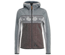 PATCHWORK ANNI - Fleecepullover - grey melange