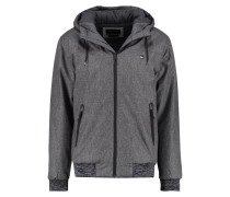 BROOKS5K Übergangsjacke dark grey heather
