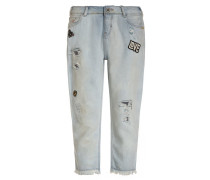 PETIT AMI Jeans Relaxed Fit destroyed denim
