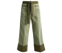 GAFFNEY Flared Jeans warm sage