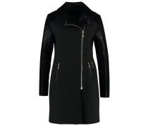 MUTLU Wollmantel / klassischer Mantel noir/jet