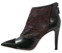 SUSSI High Heel Stiefelette nero/bordo