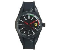 RED REV Uhr black