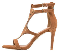 HAREM High Heel Sandaletten tan