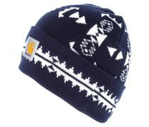 Mütze navy/snow