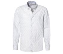 SLIM FIT Hemd weiß