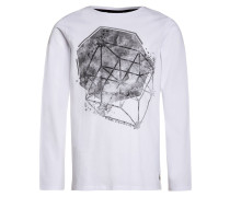 Langarmshirt bright white