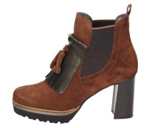 High Heel Stiefelette tabacco