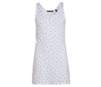 Jerseykleid weiß