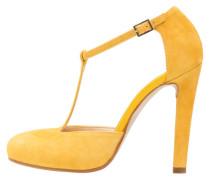 Plateaupumps - giallo