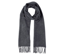 Schal dark grey melange
