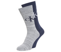 2 PACK Socken grey/denim