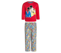 MICKEY Pyjama light gray melange/dazzling blue