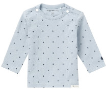 NOVARA Langarmshirt grey blue