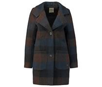 NOX Wollmantel / klassischer Mantel slate black