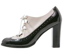 High Heel Pumps black/ light beige
