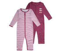 2 PACK Pyjama red violet