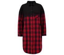 Blusenkleid red/black