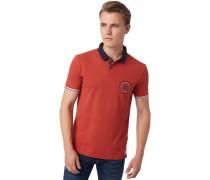 Poloshirt burned red slate