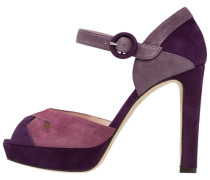 ELI High Heel Sandaletten dark petal pink/purple mist raisin