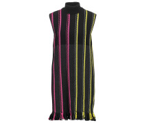 Strickkleid black