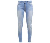 OBJSKINNY SALLY Jeans Skinny Fit light blue denim