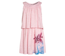 MERMAID BEACH - Jerseykleid - pink lady melange/rose