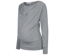 ALMIRA Strickpullover light grey melange