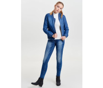 Bomberjacke medium blue