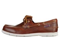 DERBIES - Bootsschuh - brown