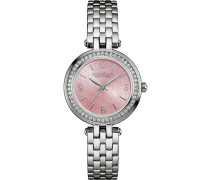 PERFECTLY PETIT - Uhr - silver-coloured/pink