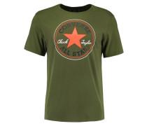 T-Shirt print - fatigue green