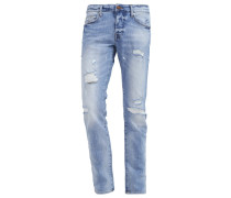 ROCCO Jeans Slim Fit blue denim comfort
