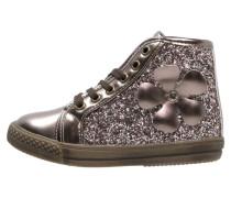 Sneaker high brown