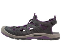 BIOM DELTA - Trekkingsandale - black/imperial purple