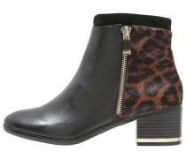 DOMINIC - Stiefelette - black/natural