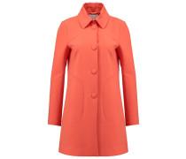 Wollmantel / klassischer Mantel cayenne red