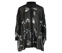 STUNNER Bluse jet black/h grey