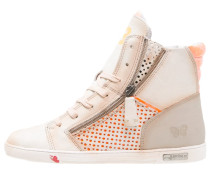 JOMAR Sneaker high orange/capucino
