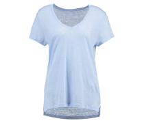 T-Shirt basic - blue crystal